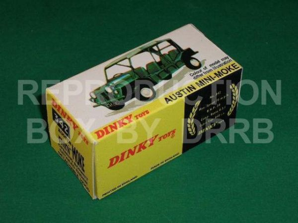 Dinky #342 Austin Mini-Moke - Reproduction Box